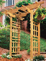 Building An Arbor Design Decoration