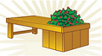 Relax and smell the flowers on this easy-to-build planter bench!