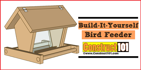Diy guides and plans for bird feeder projects Build a house online free