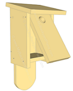 detailed building plans for simple bird house and feeders