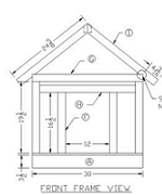 plans for wood dog house