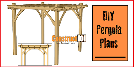 free DIY pergola plans - Pergola Building Plans - How To Weekend Projects
