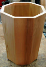 8-Sided Tapered Cedar Planter