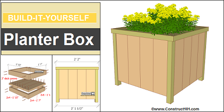 bild it yourself planter box