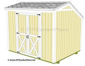salt box shed plans