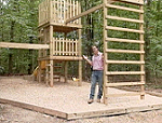 How to Build a Double Decker Playhouse