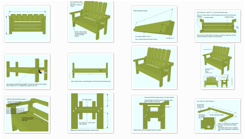 Terrific Bench Guides And Plans Garden And Outdoor Benches Pabps2019 Chair Design Images Pabps2019Com